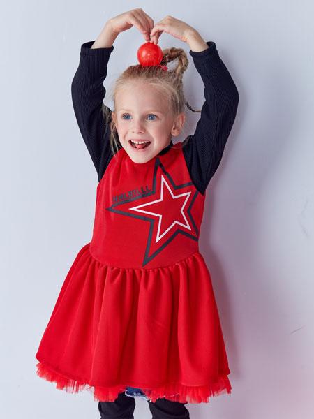 小鲨诺拉童装品牌,呈现出时尚的童装造型!