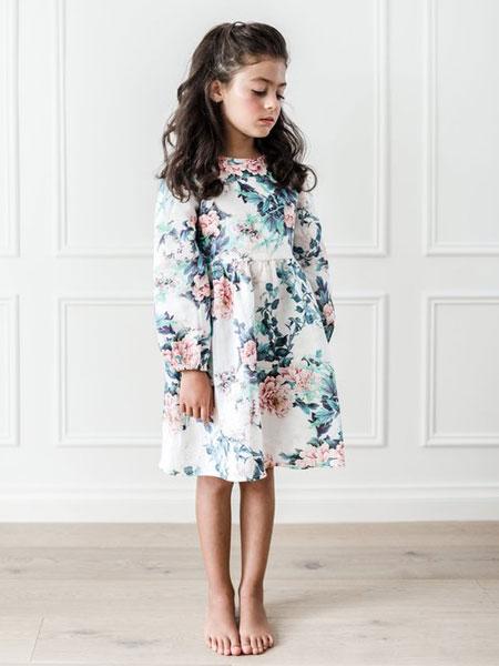 Petite Amalie童装品牌2019春夏印花裙
