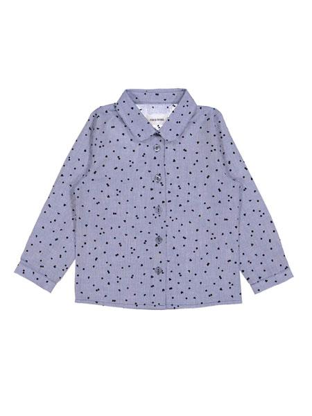 Filou & Friends童装品牌2019春夏波点印花衬衫