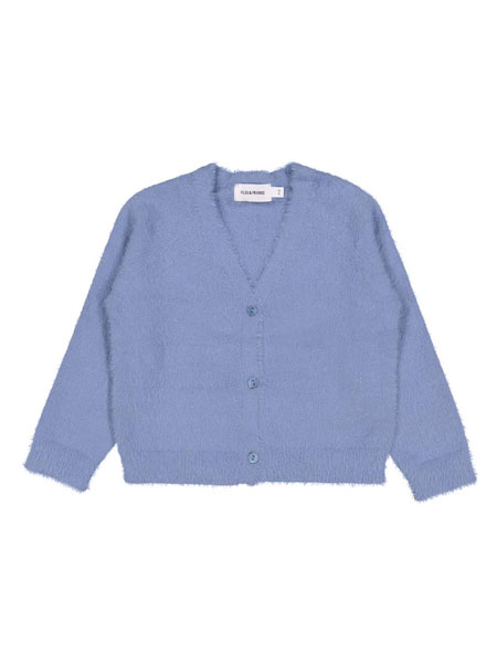 Filou & Friends童装品牌2019春夏浅蓝色针织毛衣