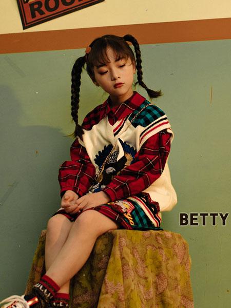 贝蒂小羊童装品牌2019秋冬
