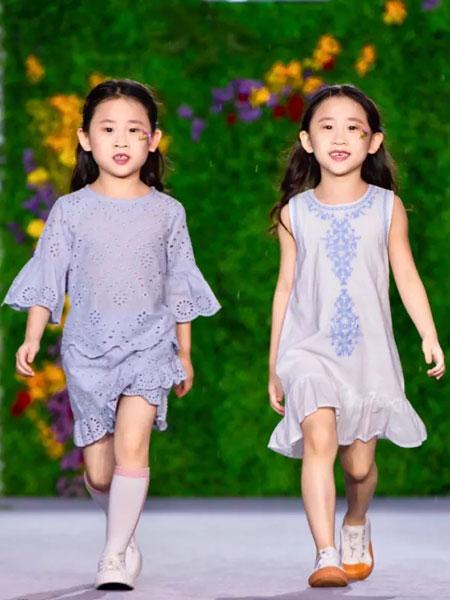 GBKIDS童装品牌2020春夏镂空印花裙子