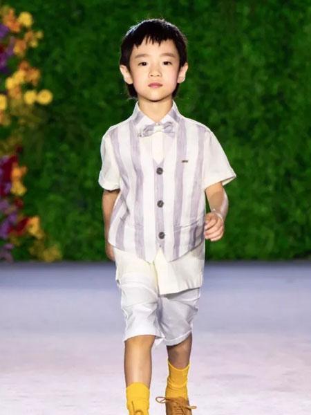 GBKIDS童装品牌2020春夏条纹时尚衬衫