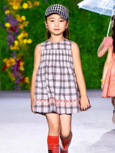 GBKIDS童装品牌2020春夏格子裙