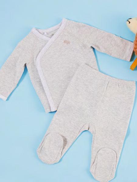 Tiny Toes/Inspired Living童装品牌2019秋冬婴幼儿内衣灰色
