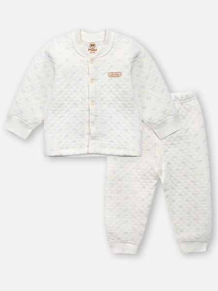 贝儿童品童装品牌2019秋冬保暖套装
