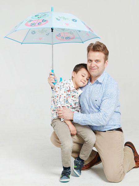 甜糖妈咪婴童用品印花雨伞