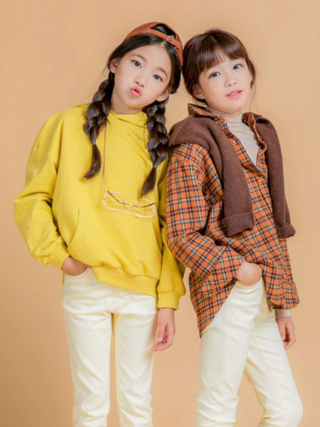 Stylenoriter童装品牌2019秋冬格子衬衫