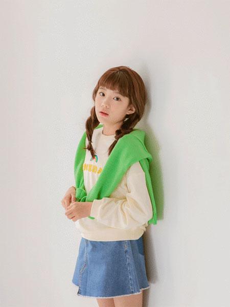Stylenoriter童装品牌2019秋冬印花卫衣