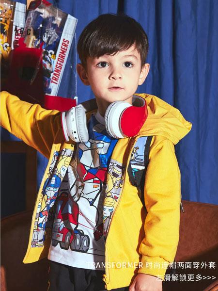 ABC KIDS童装品牌2019秋冬黄色外套