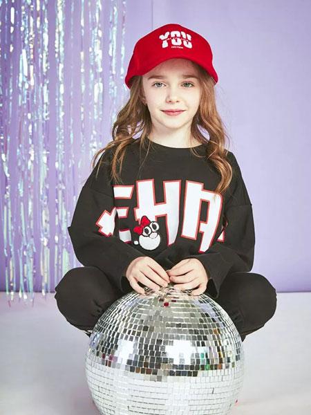 ABC KIDS童装品牌2019秋冬字母印花卫衣