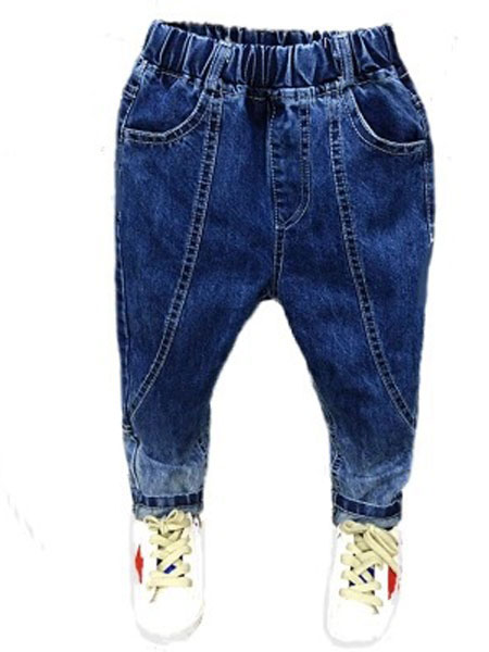 叮铛小熊童装品牌2019秋冬牛仔裤