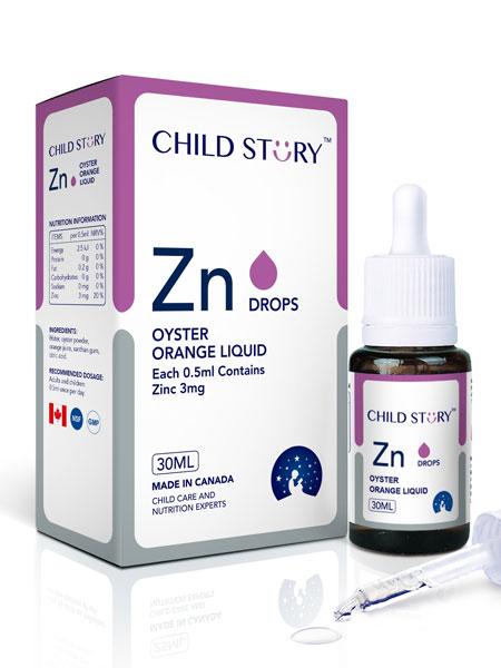 童年故事婴儿食品童年故事锌滴剂