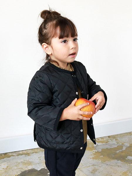 quoti use fith童装品牌2019秋冬黑色羽绒服