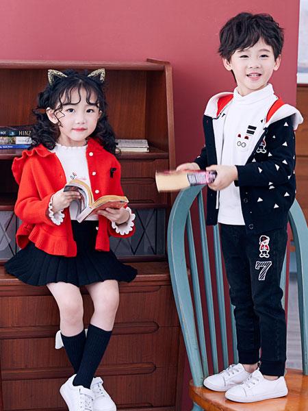 嗒嘀嗒童装品牌2019秋冬加绒加厚保暖洋气公主裙长袖两件套
