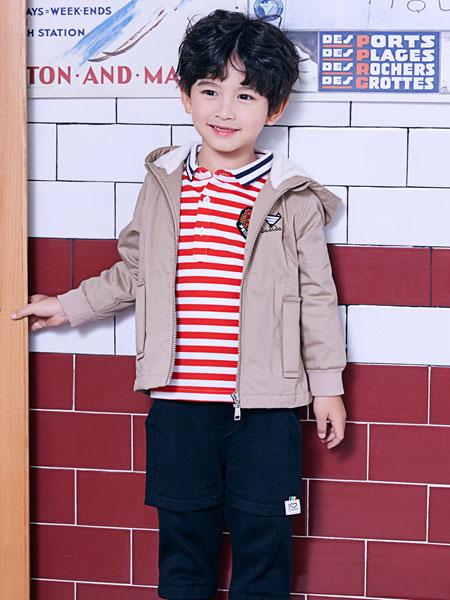 嗒嘀嗒童装品牌2019秋冬中大童时髦洋气运动两件套