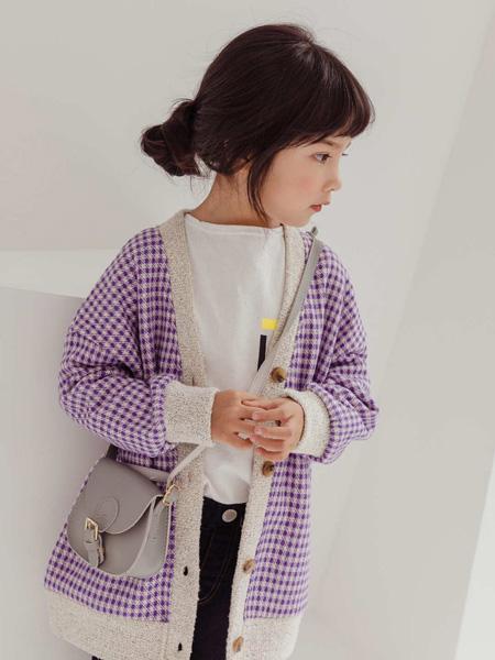LITTLE CLOSET童装品牌2019秋冬格子外套