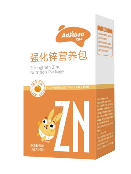 亢敏君婴儿食品强化锌营养包