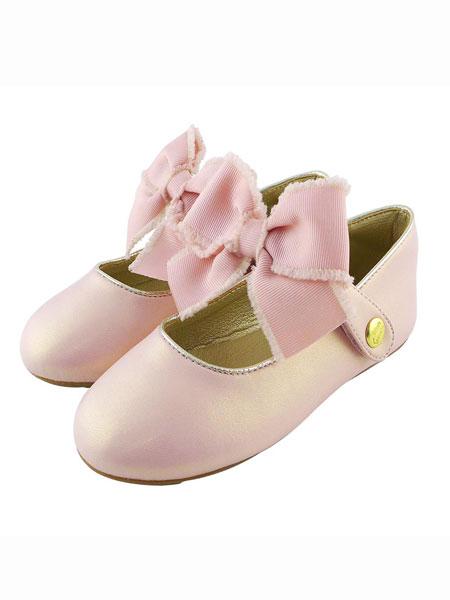 Little Garden童鞋品牌2019春夏娃娃鞋粉色