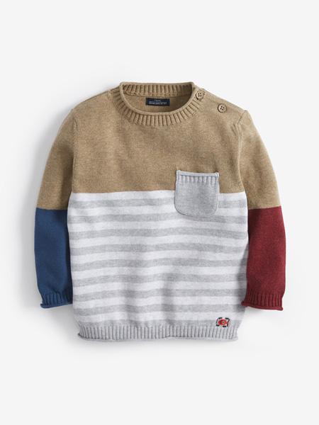 Emile et Rose童装品牌2019秋冬保暖针织套头毛衣