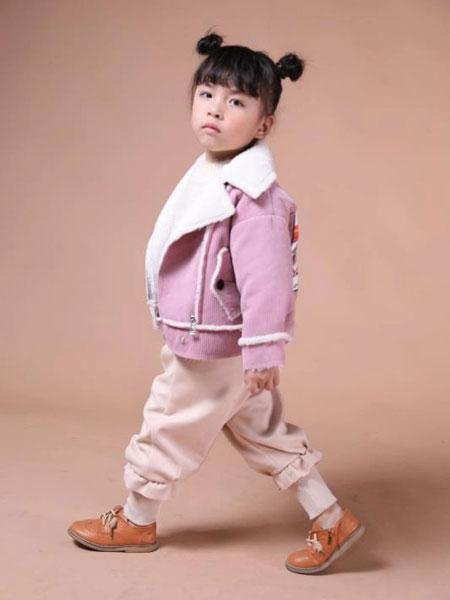 米作童装品牌2019秋冬粉色外套