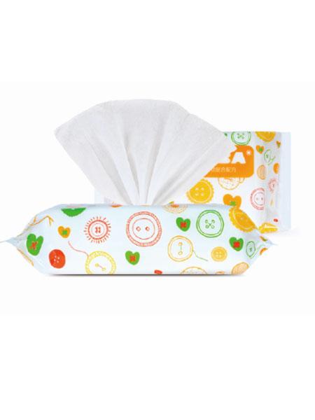 爱朵婴童用品宝宝乳液湿纸巾80抽