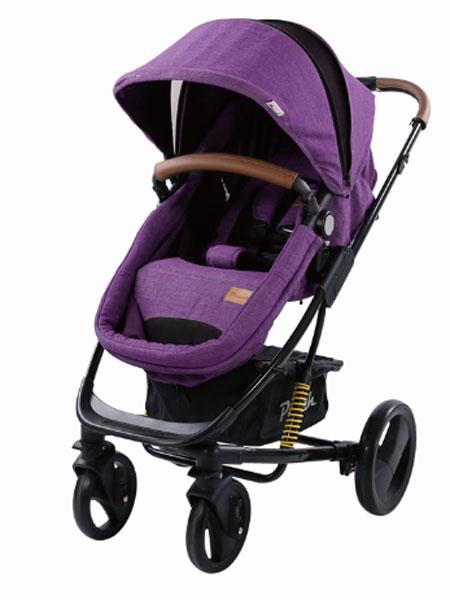 Pouch婴童用品推车神奇四侠紫色