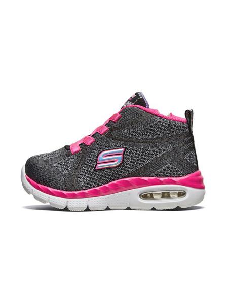 斯凯奇Skechers童鞋品牌2019秋冬女童魔术贴运动鞋