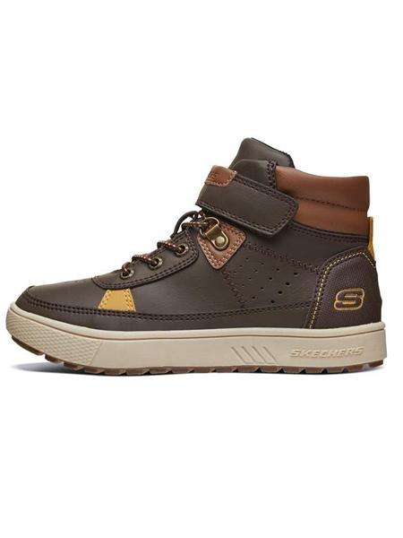 斯凯奇Skechers童鞋品牌2019秋冬男童短靴
