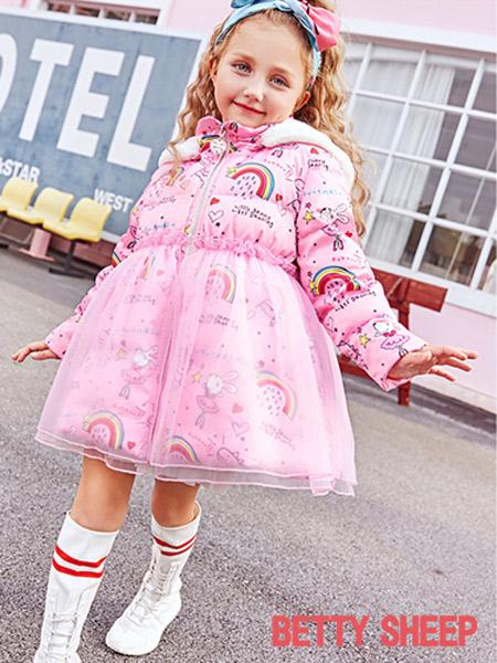 贝蒂小羊童装品牌期待着您的加盟!