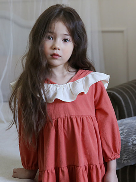 Bonne童装品牌2019秋冬娃娃衫上衣