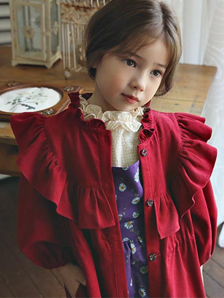 Bonne童装品牌2019秋冬娃娃衫外套