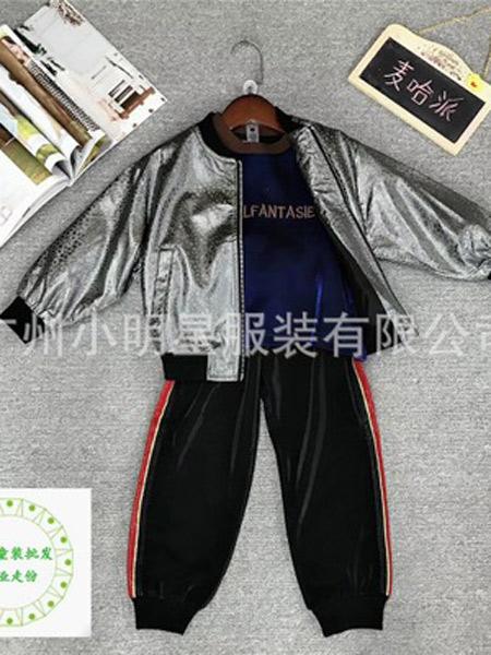 小明星童�b品牌2019秋冬加�q棒球服