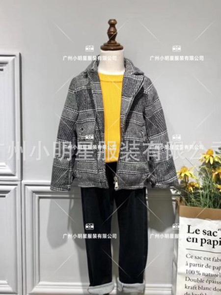小明星童装品牌2019秋冬毛呢外套