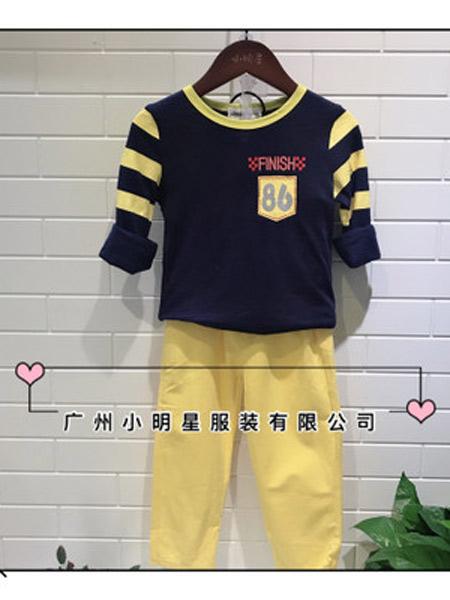 小明星童装品牌2019秋冬圆领卫衣
