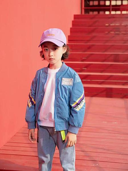 宠来宠趣童装品牌2019秋冬加绒保暖外套