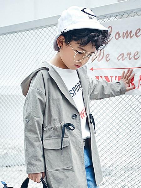 宠来宠趣童装品牌2019秋冬休闲夹克