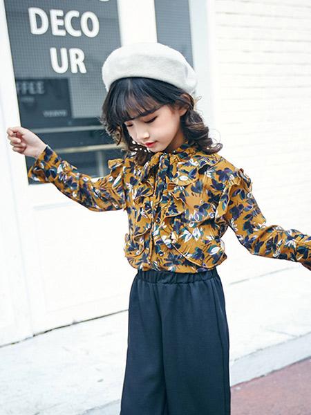 宠来宠趣童装品牌2019秋冬花色上衣