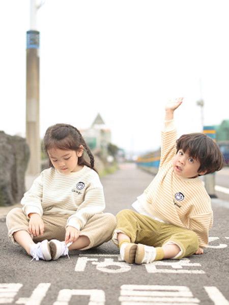 TREEBIBI童装品牌2019秋冬针织套头衫
