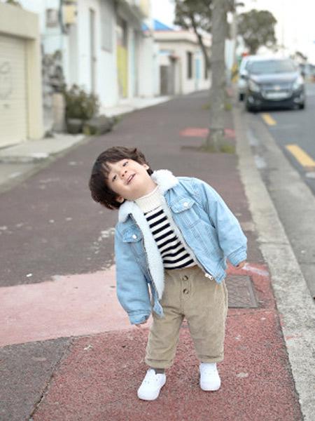 TREEBIBI童装品牌2019秋冬保暖加绒棉服
