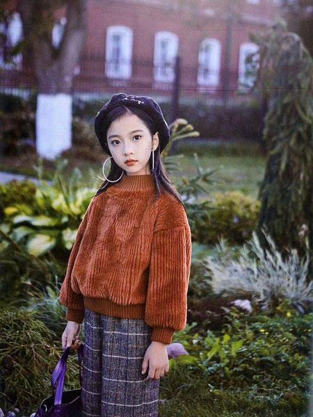 小嗨皮童装品牌2019秋冬灯芯绒套头衫