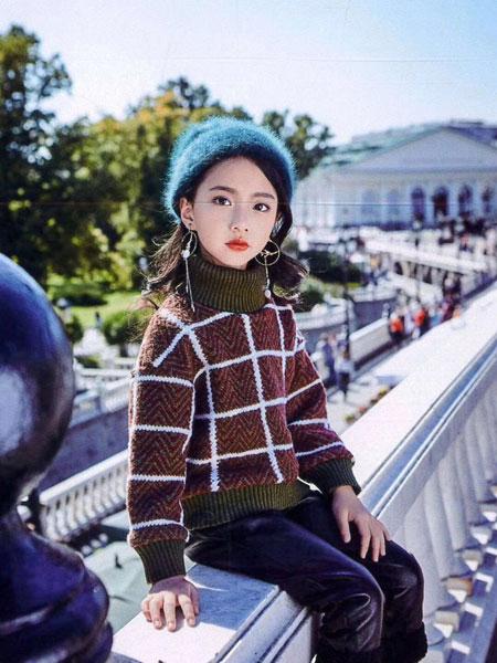 小嗨皮童装品牌2019秋冬羊毛衫套头衫