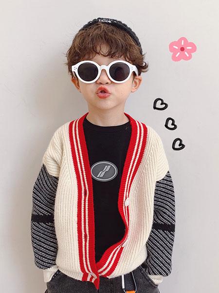 麦乐鸭童装品牌2019秋冬羊毛衫外套
