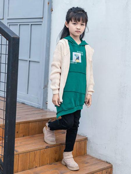 佐米熊童装品牌2019秋冬羊毛衫针织衫外套