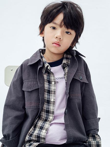 starroom童装品牌2019秋冬休闲牛仔夹克