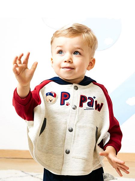 pawinpaww童装2019最火爆的棋牌平台品牌2019秋冬加绒外套