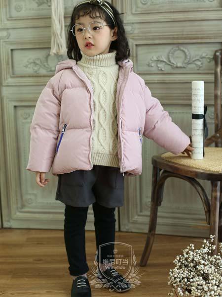 维尼叮当童装品牌2019秋冬儿童漆皮棉袄潮童上衣暖和潮