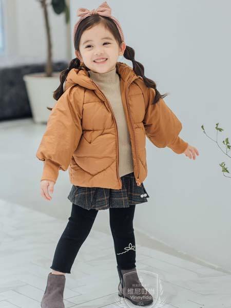 维尼叮当童装品牌2019秋冬洋气面包服宝宝棉袄加厚棉衣潮