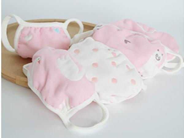 艾贝瑞士婴童用品6层纯棉纱布口罩