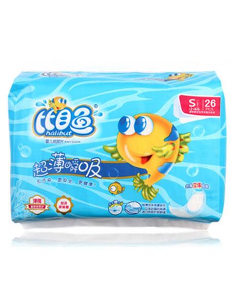 比目鱼婴童用品超薄瞬吸婴儿纸尿片S码26片